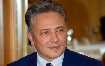 "Mr. Boris Dikidzhi, Chairman of the Board of Trustees of the Foundation ""National Morning Prayer"""