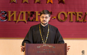 Hier-monk Stefan Igumnov, Secretary in charge of inter-christian relations within the foreign church relations office of Moscow Patriacrchy of the Russian Orthodox Church